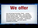 Parcel Forwarding Poland