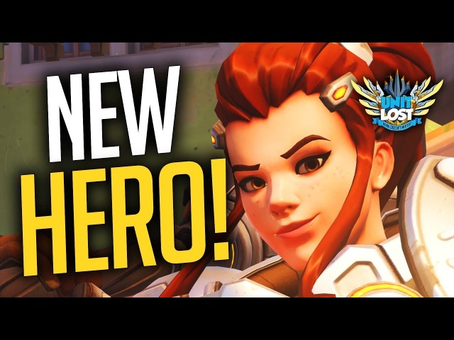 Overwatch: Brigitte GAMEPLAY! NEW HERO! - ALL ABILITIES BREAKDOWN!