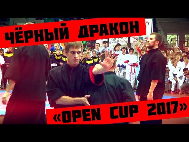 Показательное выступление школы кунг-фу Чёрный Дракон на Open Cup 2017