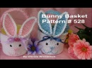 Little Bunny Basket just in time for EASTER - Crochet tutorial
