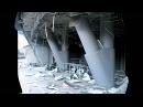 Стадион Донбасс Арена после обстрела терористами