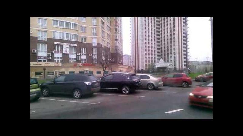 . Москва-Мичуринский проспект-Метро Юго-Западная. Поездка по городу на троллейбусе