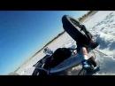 Fat bike in snow Epic Fail На электрофэтбайке по Финскому заливу ЛенФэтбайк