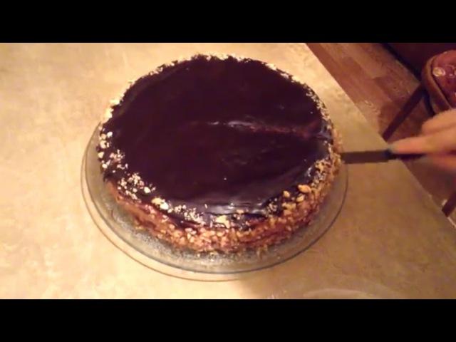 Ինչպես պատրաստել տորթ Պրագա Как приготовить торт Прага How to cook cake PRAGA №9