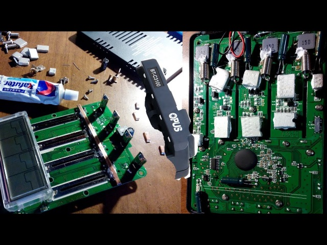Универсальная зарядка Opus Bt-C3100 V2.2 модернизация системы охлаждения и кондиционирования