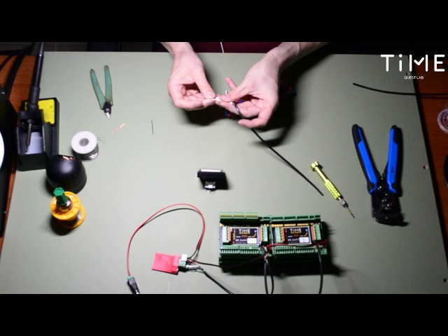 Электроника для квеста. Подключение геркона, кнопки