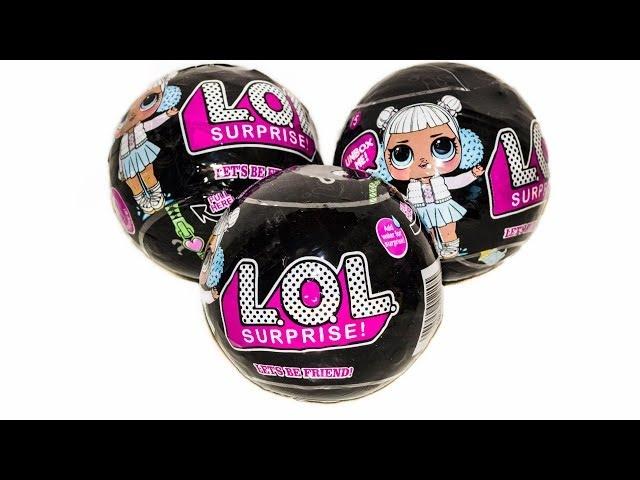 ЧЕРНЫЙ Китайский ЛОЛ Подделка шариков LOL из Китая Дешевая Копия Черного Цвета Fake BLACK LOL