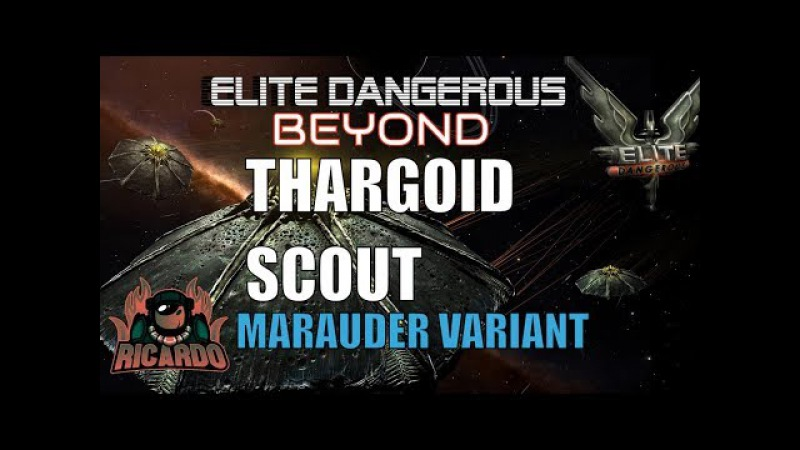 Elite Dangerous Beyond 1st encounter with Thargoid scout Marauder Variant