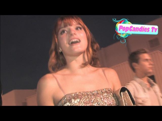 Bella Thorne Garrett Backstrom leaving 2011 Do Something Awards in Hollywood!