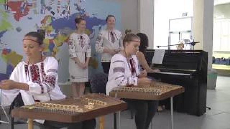 Ансамбль Пралескі гімназія №15 г МІнска ў Араве Ізраіль лета 2017