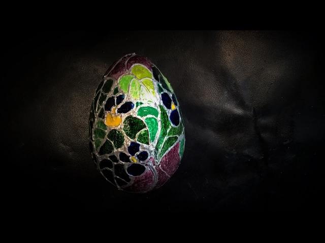 Jak ozdobić jajo a la witraż - Pomysły plastyczne dla każdego