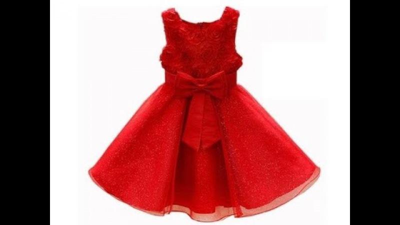 How make a dres for girl 2 | como hacer un vestido para niña
