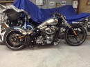 Harley Davidson FXSB Softail Breakout Customizing Umbau