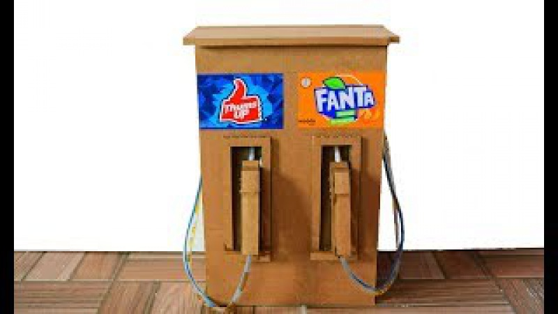 DIY Cool Drink Dispenser | How to Make Drinks Fountain Machine |