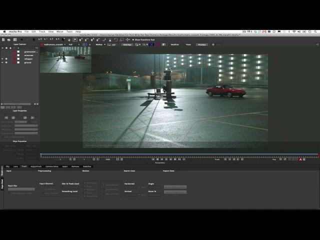 Tracking Difficult Shots with mocha Pro v3s Camera Solver