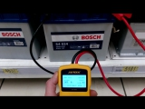 Тест автомобильных аккумуляторов прибором Аutool BT360