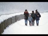 Борьба с последствиями снегопада в Москве