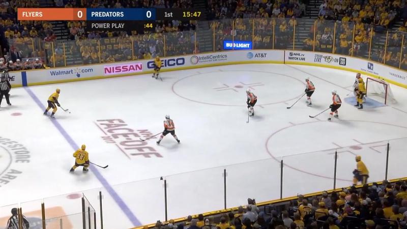НХЛ - регулярный чемпионат. Нэшвилл Предаторз - Филадельфия Флайерз - 6:5 (1:0, 2:3, 3:2)