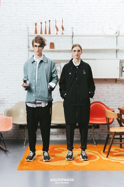 SOUTHFINESS Draws From Dieter Rams and Joy Division for Fall/Winter 20