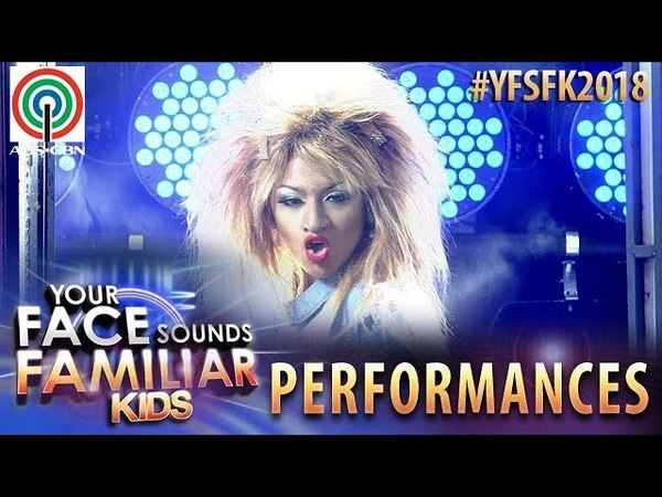 Your Face Sounds Familiar Kids 2018: Noel Comia Jr. as Tina Turner | What's Love Got To Do With It