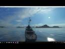 Первое видео на канале World of Warships