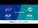 NFL 2017-2018 / Week 17 / Buffalo Bills - Miami Dolphins / CG / EN