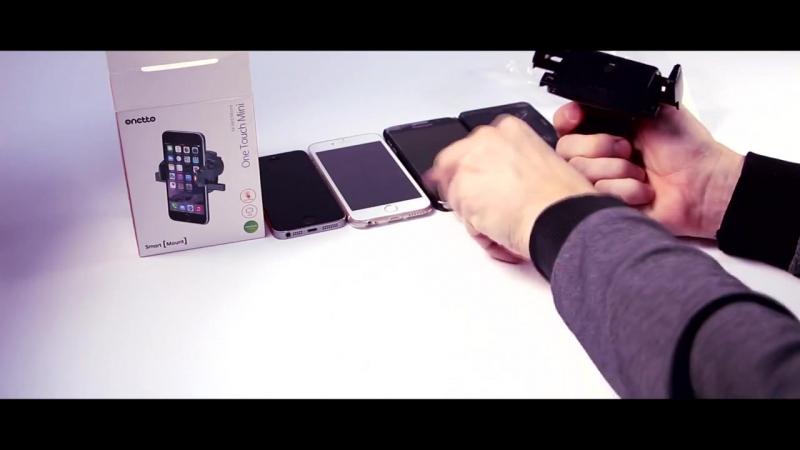 Обзор автомобильного держателя Onetto One Touch Mini Air Vent Mount в воздуховод (VM2SM9)