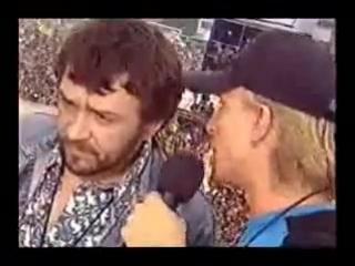 (2002) Шнур - Интервью Нашествия (я отрежу себе хуй)