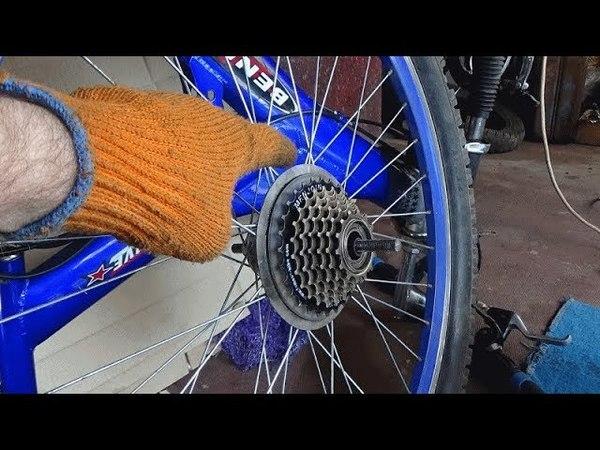 Велосипед.Кассета- как работает,куда крутить,замена.A bike cassette