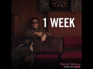 Try to contain yourself. Benedict Cumberbatch is PatrickMelrose in 1 WEEK! Showtime.