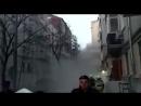 Обрушение дома в Москве