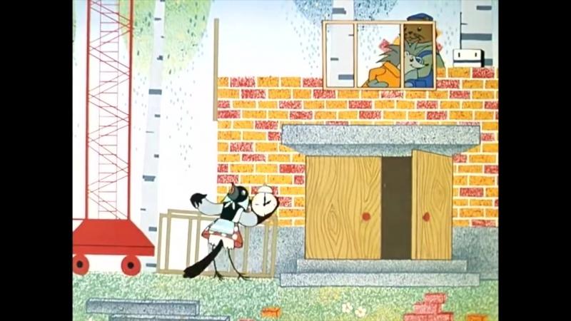 Песенка мышонка _ Советские поучительные мультики для детей