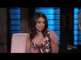 Vanessa Hudgens au Lopez Tonight le 29 mars 2011