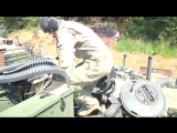 US Army - M1A2 SEP V2 Main Battle Tanks Live Firing At Exercise Combined Resolve II [720p]