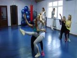 Сегодня репетировали танец в паре, а наш класс пополнился)