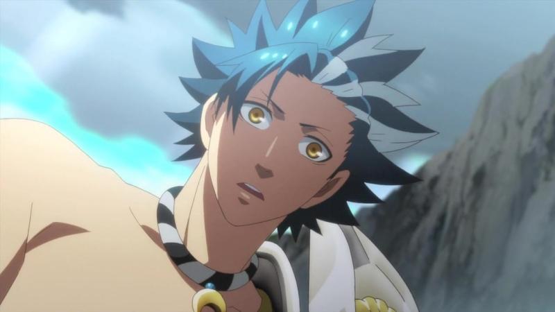 Kamigami no Asobi Забавы богов ТВ 05 Озвучка Zendos Lupin Manaoki Metacarmex Silv