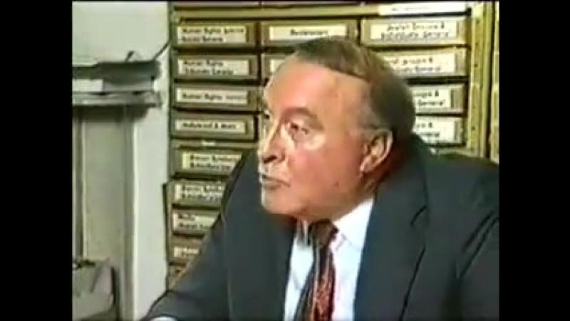 Ernst Zündel - ZDF Interview - Nur 1 Minute davon wurde gesendet