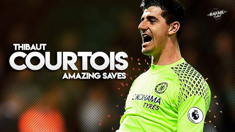 Thibaut Courtois - Amazing Saves - 2018 HD