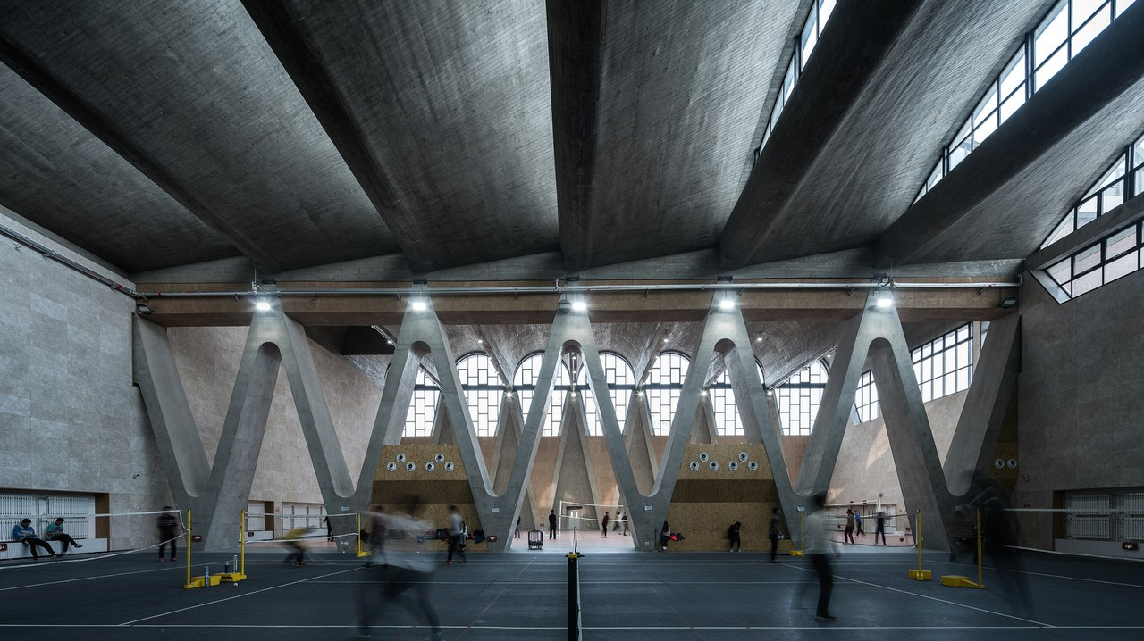 Gymnasium of New Campus of Tianjin University / Atelier Li Xinggang