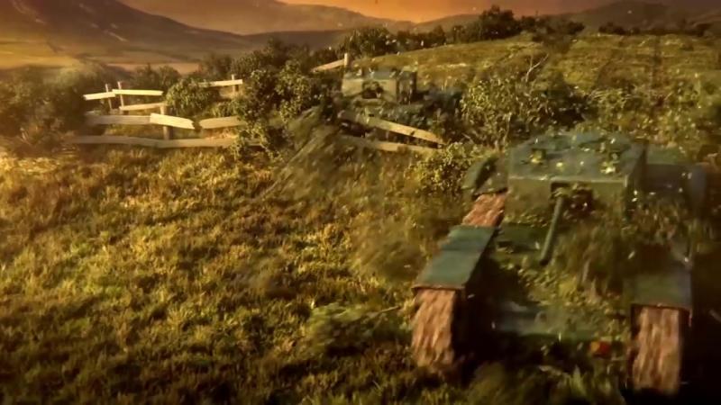 Загрузочный ролик из World of Tanks Loading clip from World of Tanks