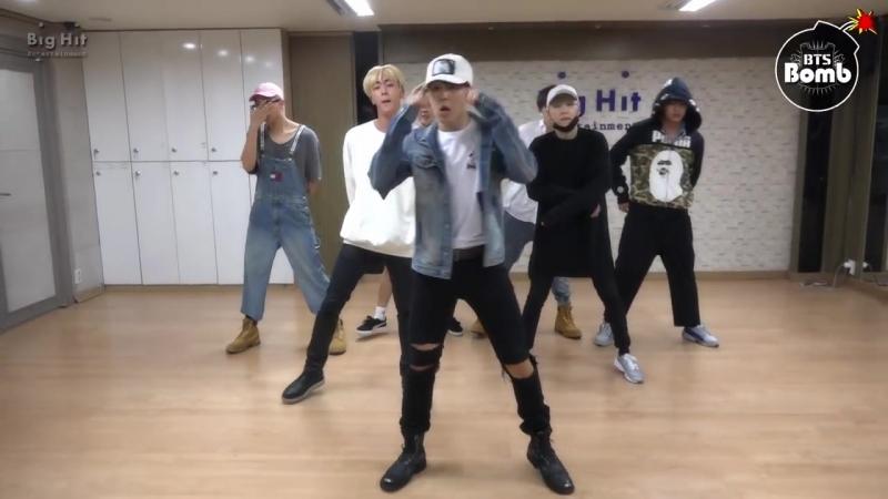 [BANGTAN BOMB] 뱁새 Dance Practice (흥 ver.) - BTS (방탄소년단)