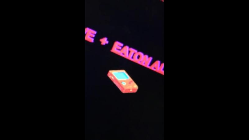 Публикация «Eaton Alive» в «Instagram Stories»