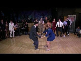 Stas Maxi Alexandra Opalat — Lindy Hop Advanced Strictly Finals at Sulta
