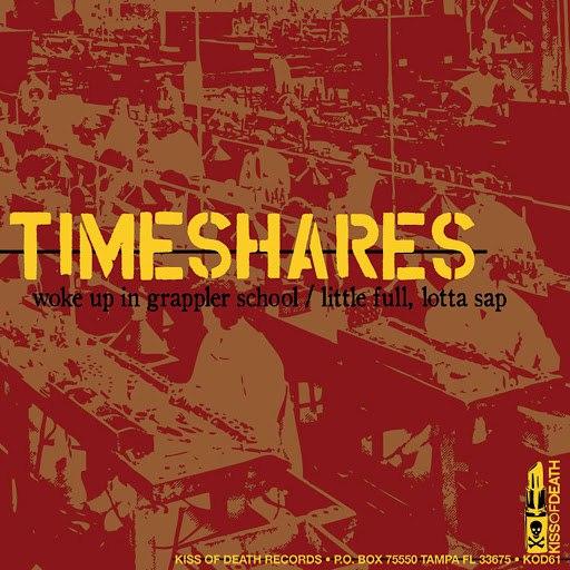 Timeshares альбом Split w/ Captain, We're Sinking