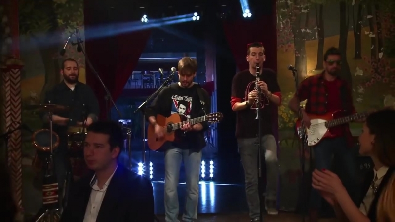 Gitarinet Groove System - King Of the Bongo (Live at RTS - Najbolji orkestri Srbije)