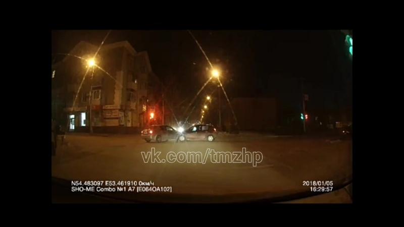 ДТП Октябрьский ул Чапаева 05 01 2018