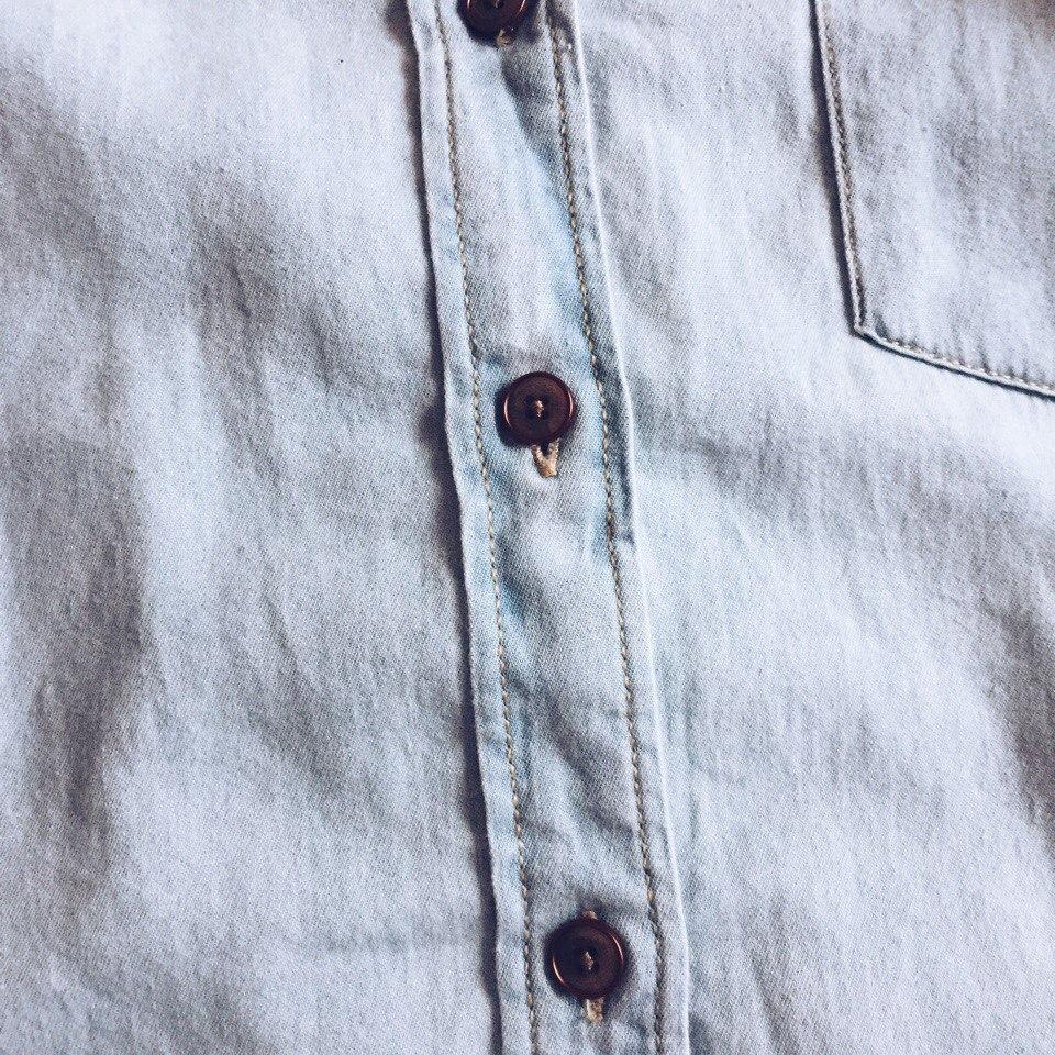 Джинсовая рубашками Garе May размеры до XXXL