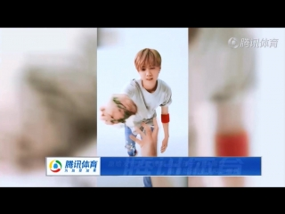 "180411 LuHan @ ""The 1st Football Class"" Promoting Video"