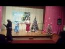 Дед Мороз и Снегурочка в ВОСе 22. 12. 2017