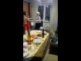 2018год Бабуля и Систер в гостях у Мамы